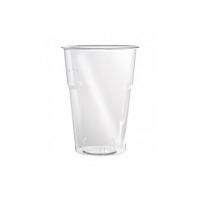 pahar plastic transparent 500 ml