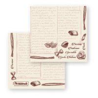servetele fato de masa natur cu scris pasta