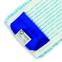 Mop microfibra lebada albastru
