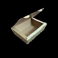 Cutii carton kraft meniu catering 2100 ml.