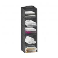 Dulap depozitare textil, 5 compartimente, sistem de agatare